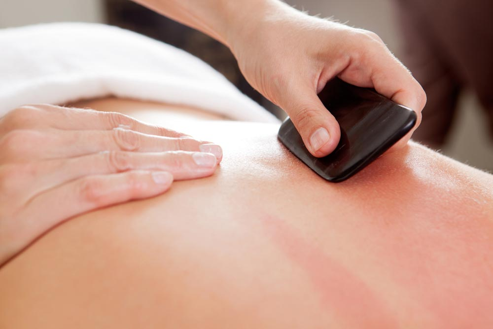 Image of Scraping therapy Sydney - gua Sha